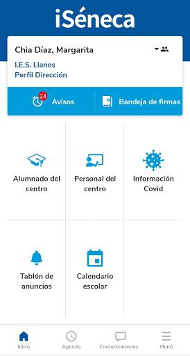 Versión de Séneca para smartphone y tabletas. screenshot 2