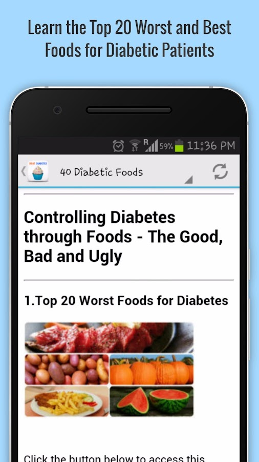 Beat Diabetes- screenshot