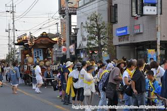 Photo: 【平成24年(2012) 宵宮】  平成24年の宵宮がスタート。山車の運行が開始される。