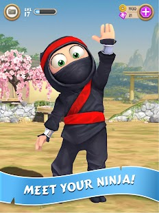 Clumsy Ninja 1.25.0 APK + MOD (Unlimited Coins/Gems) + DATA