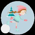 Downhill Ice Skate icon