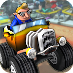 Off Road ATV Monster Trucks 3D Icon