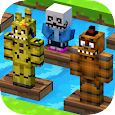 ✩Crossy Creeper: Marvel Island vs (Online Mode)✩