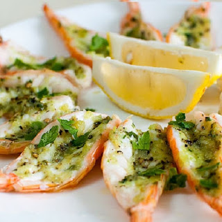 Oven Baked Easy Shrimp Scampi Recipe