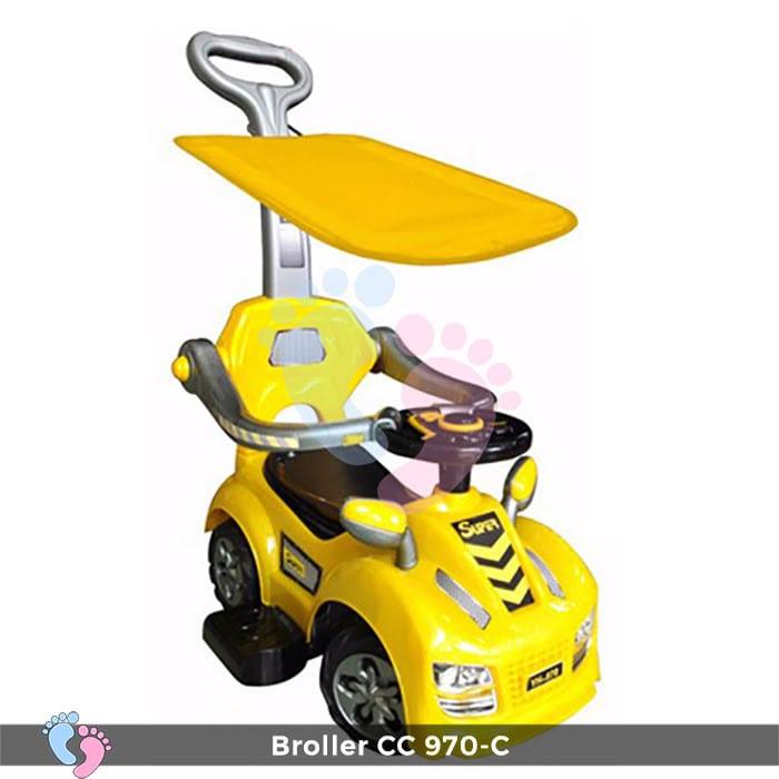 Xe chòi chân Broller CC YH-970C có mái che 2
