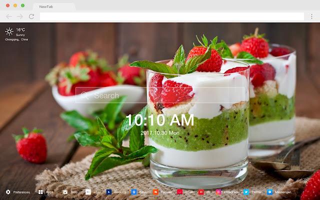 Kiwi New Tab Page HD Wallpapers Themes