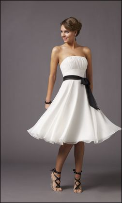 Short White Prom Dresses