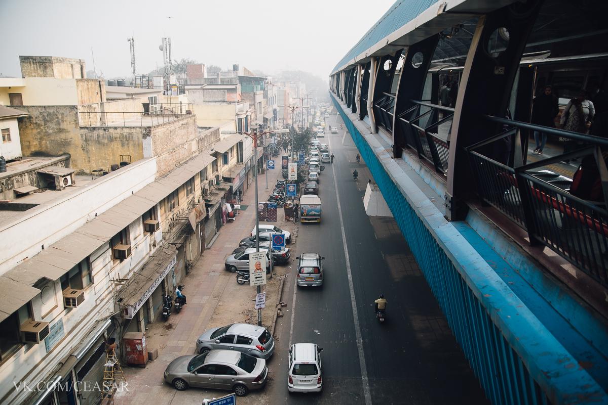 Метро в Дели