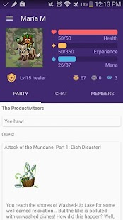 Habitica: Gamify Your Tasks: miniatura de captura de pantalla