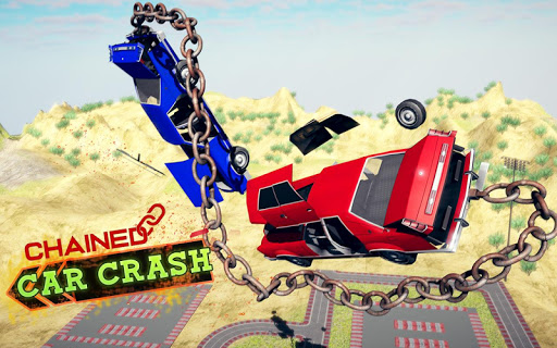 Chained Car Crash Beam Drive: Accident Simulator ss3
