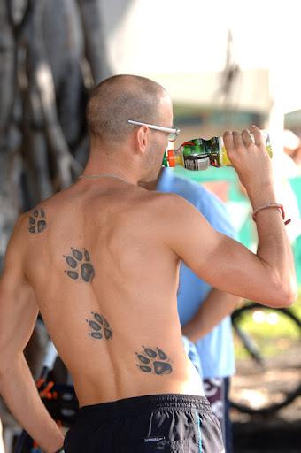 bear claw tattoos