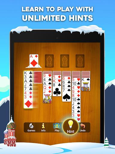 Yukon Russian u2013 Classic Solitaire Challenge Game 1.2.0.265 screenshots 8