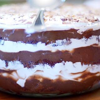 Grandma's Chocolate Trifle.
