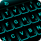 Download Neon Blue Keyboard Theme for PC - Free Personalization App for PC