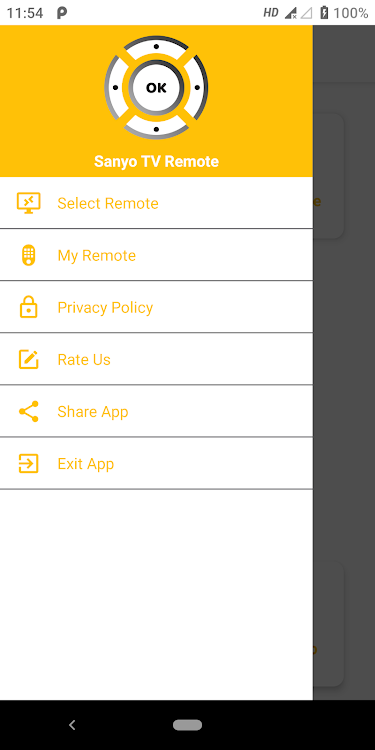 Remote For Sanyo Tv Android Apps Appagg