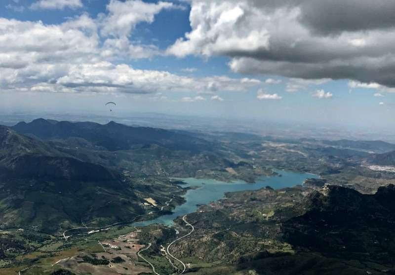 Mega May Flying In Spain