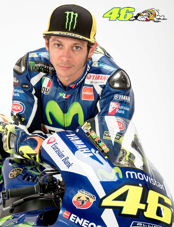 Valentino Rossi MotoGP Fan App- screenshot