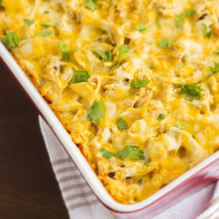 Macaroni and Cheesy Chicken Bake