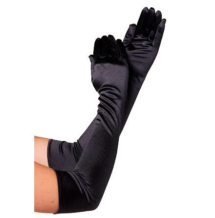 Handskar 57 cm svarta