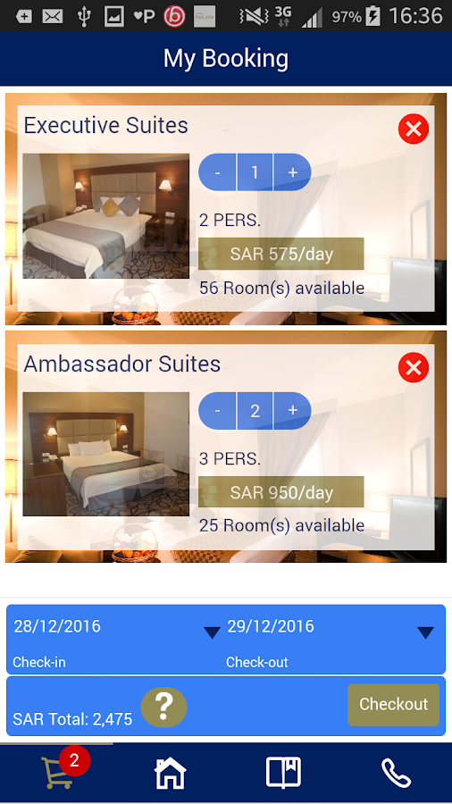 Golden Tulip Hotel- screenshot