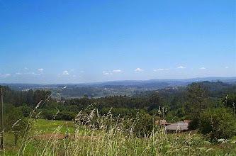 Photo: Vista dende a parroquia de Santa Marta de Babío (2002)