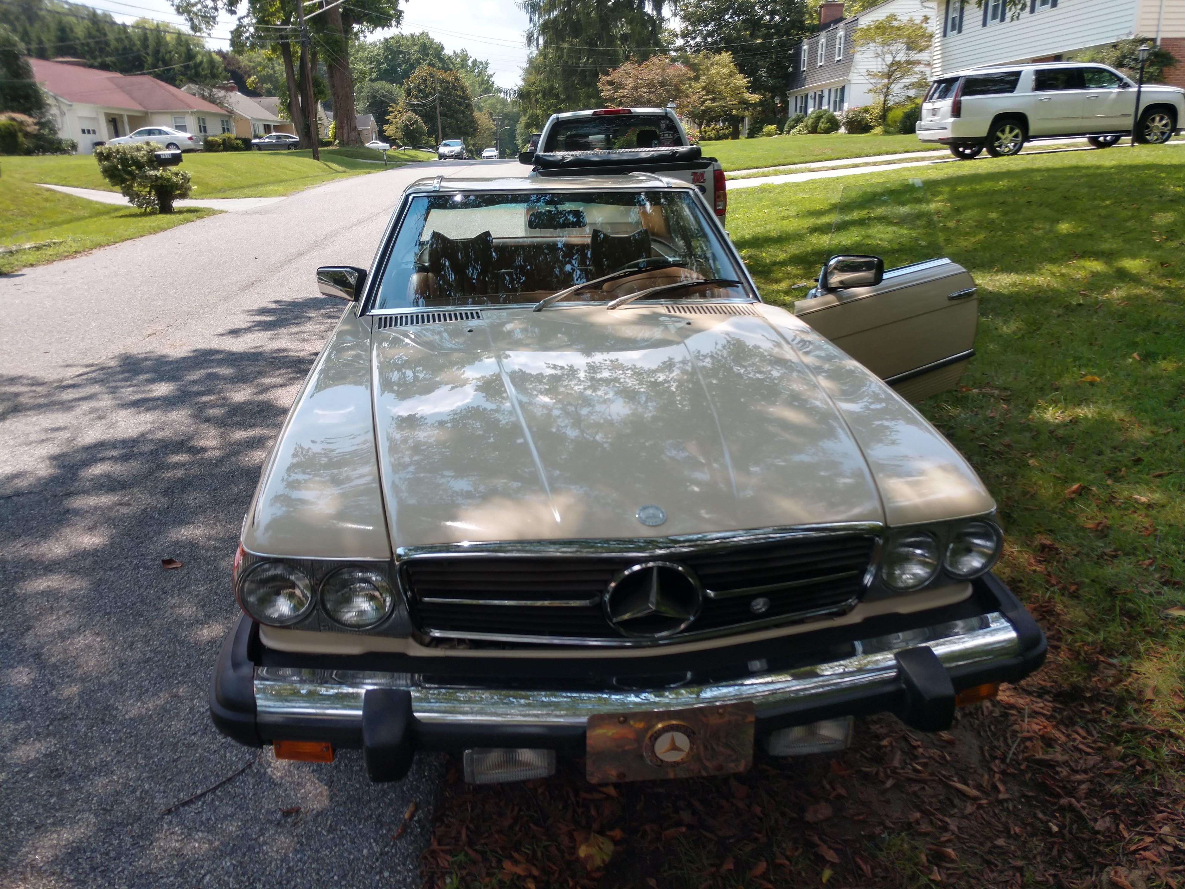 Mercedes-benz 450sl Hire Towson
