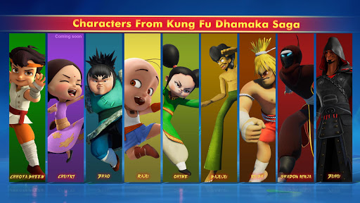 Chhota Bheem Kung Fu Dhamaka Official Game  captures d'écran 1