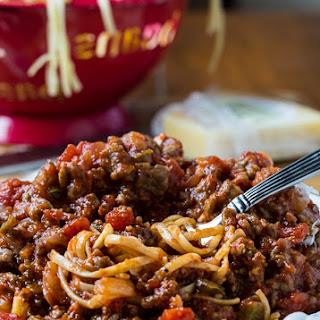 Southern Sausage Spaghetti Sauce.