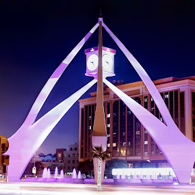 CLOCK  TOWER by Elisa Abiog - Buildings & Architecture Statues & Monuments