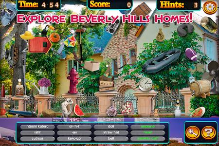 Hidden Objects - Beverly Hills screenshot 3
