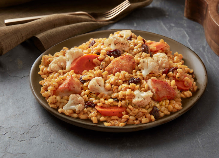 Moroccan Style Chicken W/ Barley Recipe
