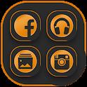 Icon Pack - dark orange icon