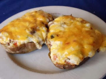 Amazing Twice Baked Potatoes Recipe