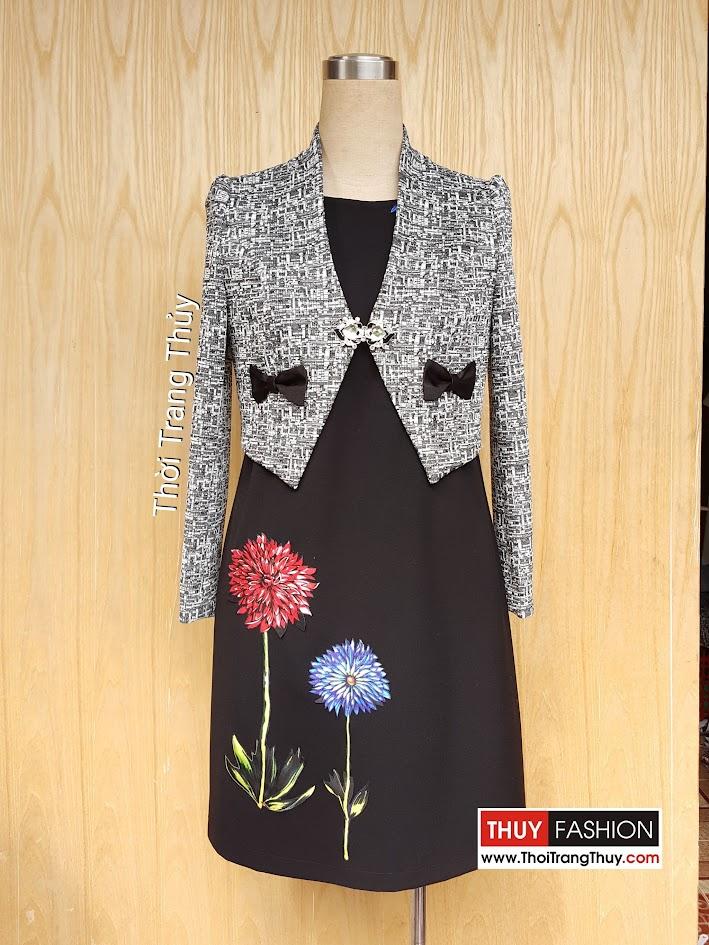Áo vest nữ cộc cho cô nàng công sở thu đông năm 2017 - V448 thời trang thủy
