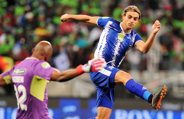 Maritzburg United striker Andrea Fileccia has extended his contract with the Pietermaritzburg club.