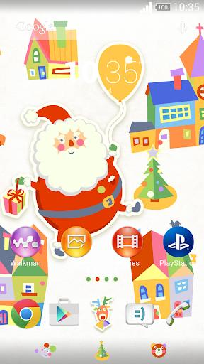 XperianZ™ Balloon Santa theme
