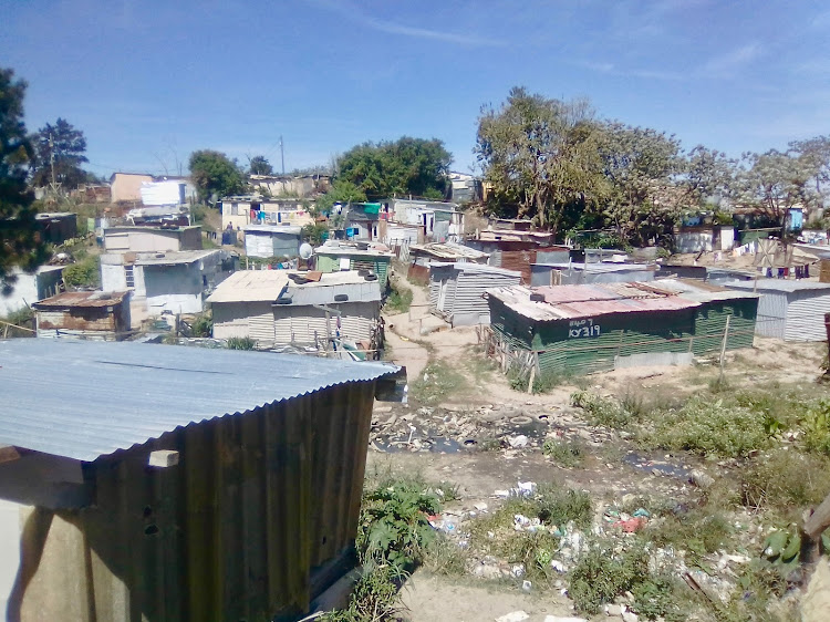 Residents of Khayelitsha informal settlement in Duncan Village, East London, say toilets were installed in 2014 and have never been serviced
