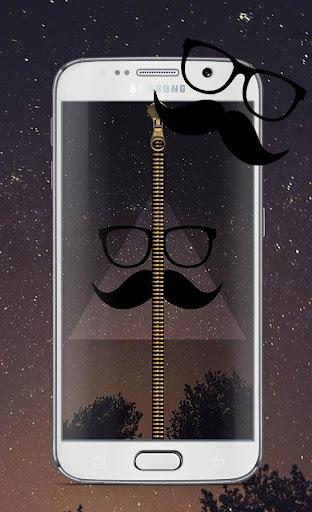 Hipster Screen Lock Zipper