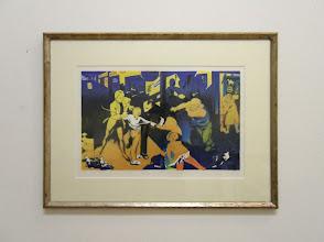 Photo: - Nach Bronzino. Farblithographie/Papier 29x47cm 1998