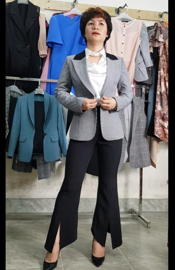 mix đồ áo Vest Nữ với quần Ống Loe thời trang thuỷ đà nẵng