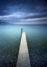 Photo: Geneva Lake, 2011. The image shown here is one of the few I took this morning taking an advantage of a simple yet strong subject combined with what I thought was quite powerful angry sky. The overcast weather added a bit of dark-side mood and interesting color cast, slightly modified off being too bluish by the use of warming polarizer.  http://www.landandcolors.com/2011/05/going-larger-to-linhof-techno/