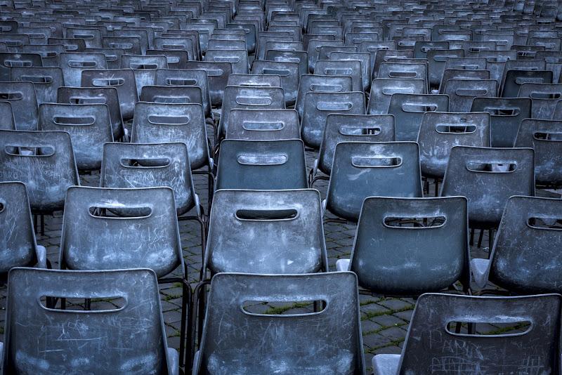 Le sedie di Gloria Staffa