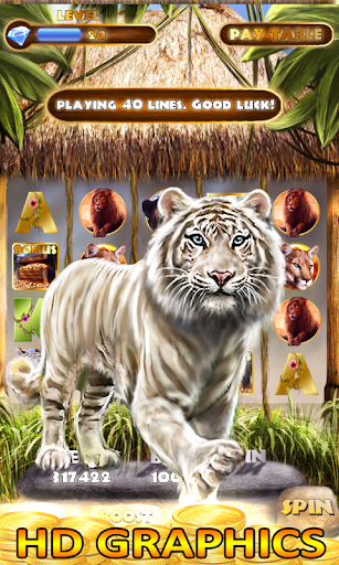 Slot Machine: Wild Cats Slots apkpoly screenshots 2