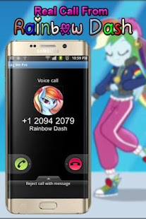 Real Call From Rainbow Dash the best - náhled