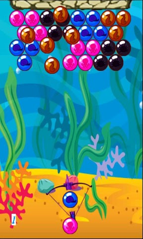 android Bubble Popper Deluxe Screenshot 1