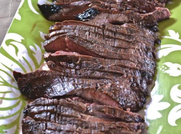 Grilled Balsamic Flank Steak Recipe