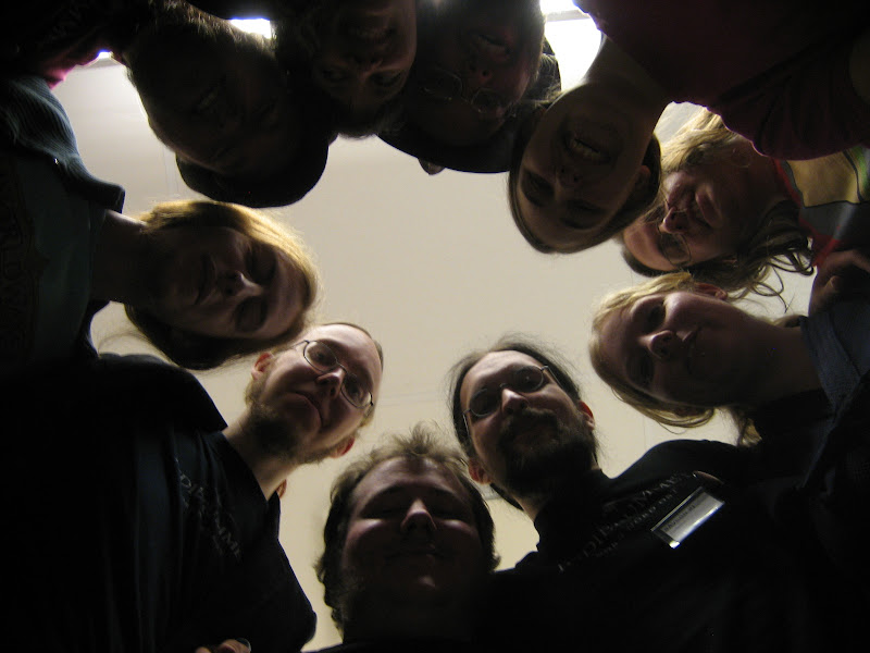 Photo: Being the Indie Lounge, we needed a group picture taken from an experimental angle as well.