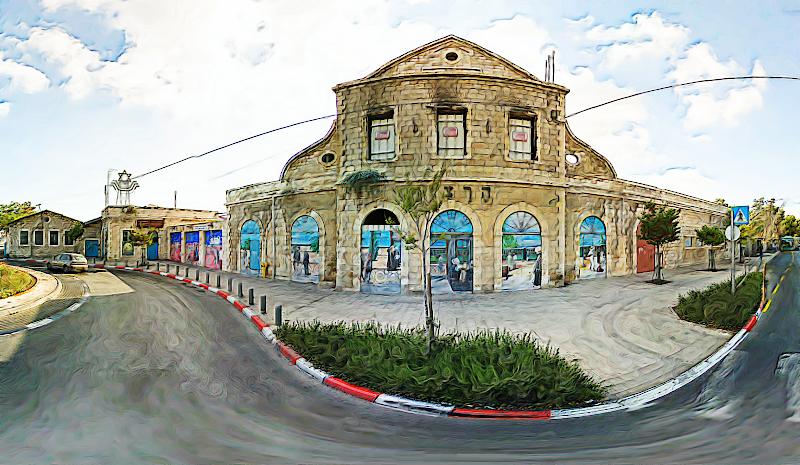 Photo: Jerusalem Railway Station