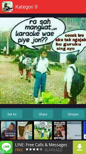 DP Bahasa Jawa Lucu