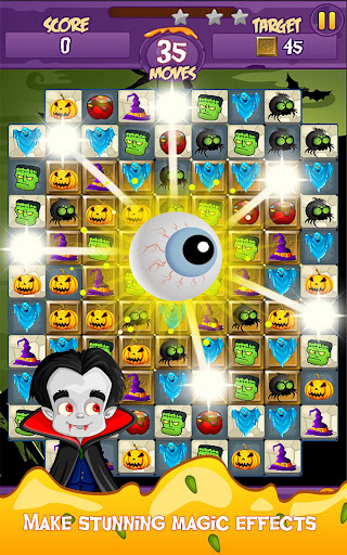 Halloween Smash 2020 - Witch Candy Match 3 Puzzle apkmr screenshots 11